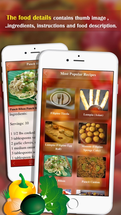 Filipino Food Recipes screenshot-1