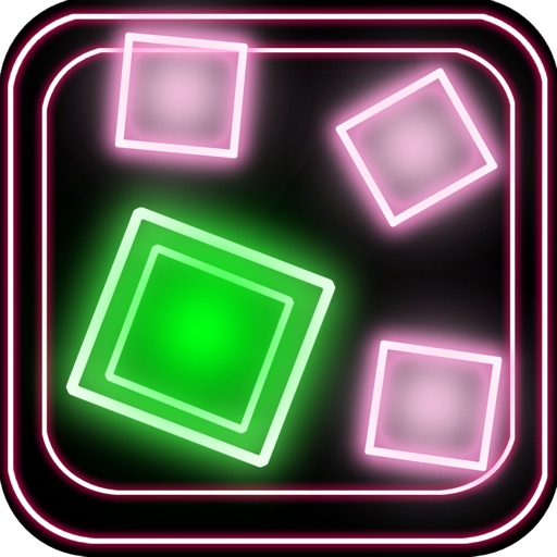 A Neon Geometry Escape Dash Extreme
