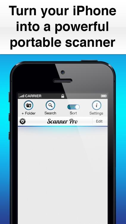 Scanner Pro Edition screenshot-4