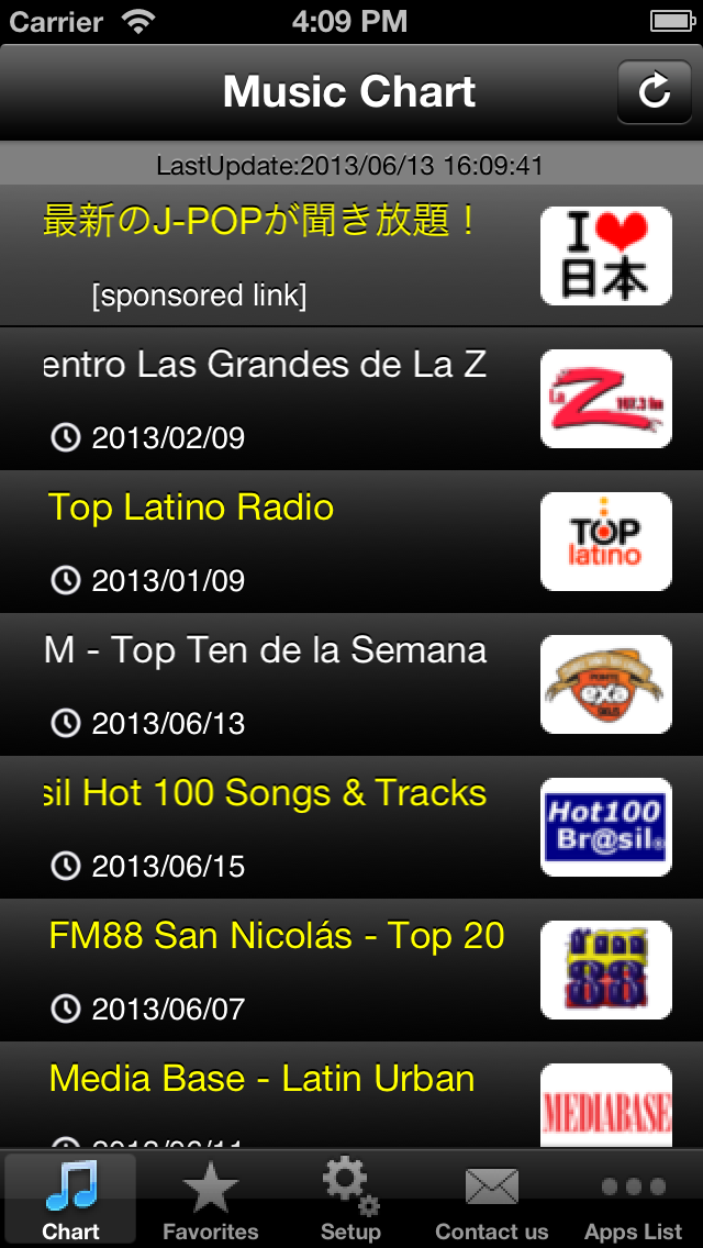 Latin Hits! (Free) - Get The Newest Latin American music charts!