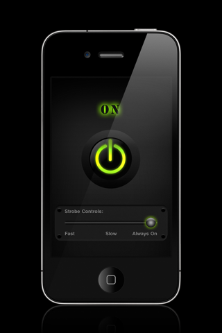 Flashlight Pro w/Strobe screenshot 1