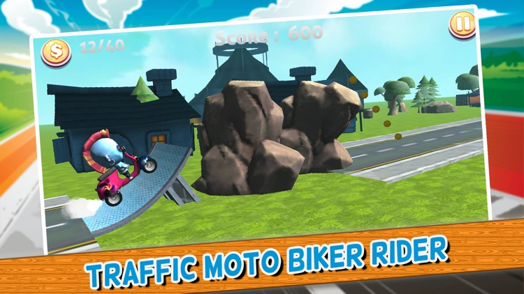 Traffic Moto Biker Rider - race car games extreme car racing simulator