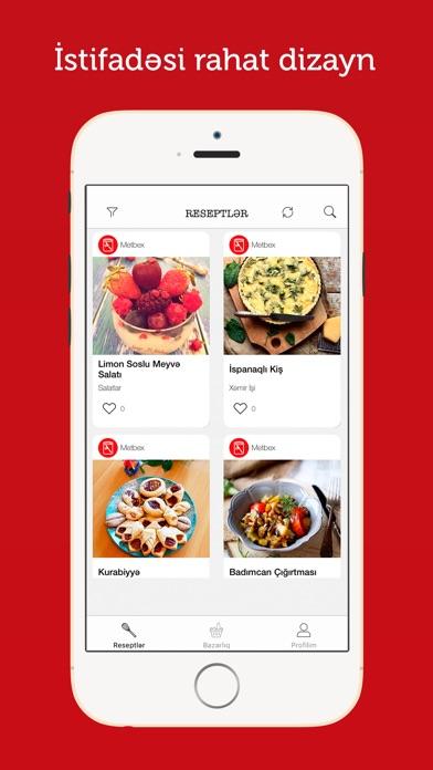 Screenshot for Metbex in Azerbaijan App Store