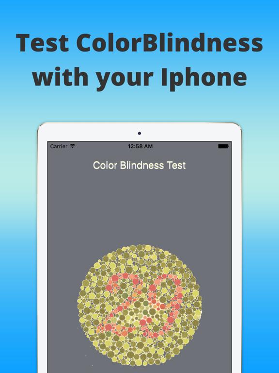 ColorBlind-Eye Exam   App Price Drops