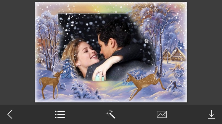 Winter Photo Frames - Instant Frame Maker & Photo Editor screenshot-3