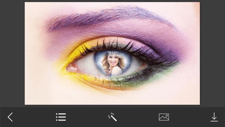 Eye Photo Frames - Instant Frame Maker & Photo Editor