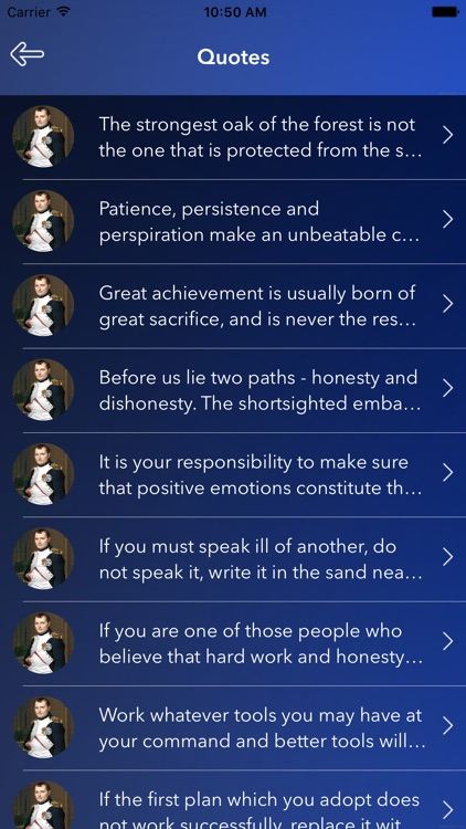 Quotes of Napoleon screenshot-2