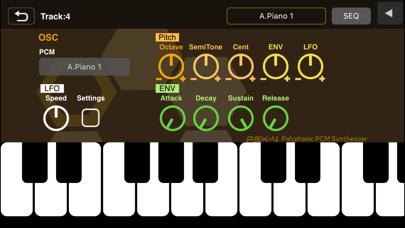 Screenshot #3 pour XENON Synthesizer