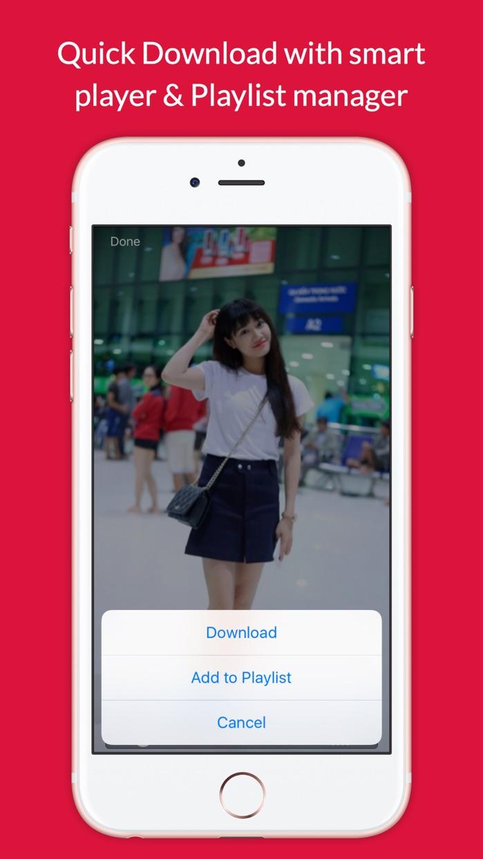 Video Grabby Free - Video Save & Video Editor Screenshot