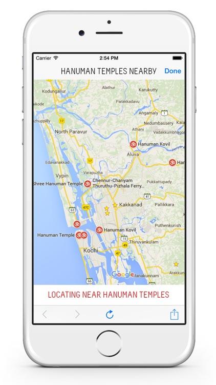 Lord Hanuman : Mantras, Stories, Songs, Wallpapers, Hanuman Temples screenshot-4