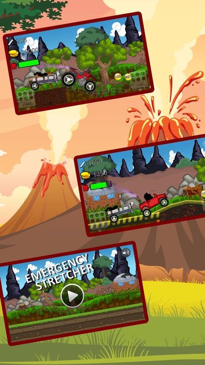monster truck climb : free car racing games screenshot-3