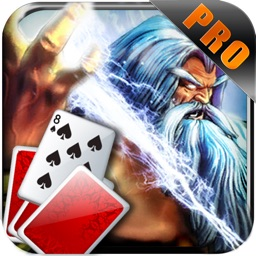 Zeus Solitaire Pyramid Playing Cards Live Pro
