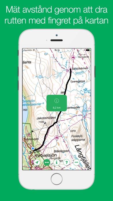 Screenshot for Fjällkartan - Offline in Sweden App Store