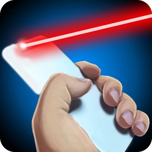 Simulator Laser Camera Joke iOS App