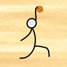 Stick Figure Slam Dunk