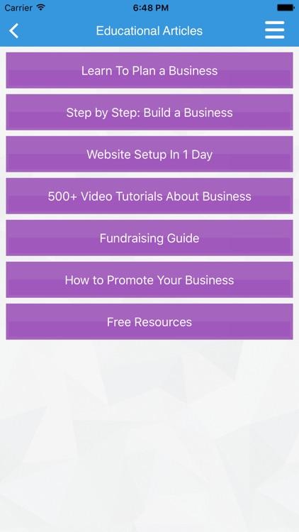 Business Plan & Start Your Business screenshot-3