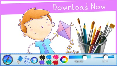 Sketch Scribble Art - Scrawl Art | Simple Drawing App & Learn How to Draw something on Pad for kids screenshot one