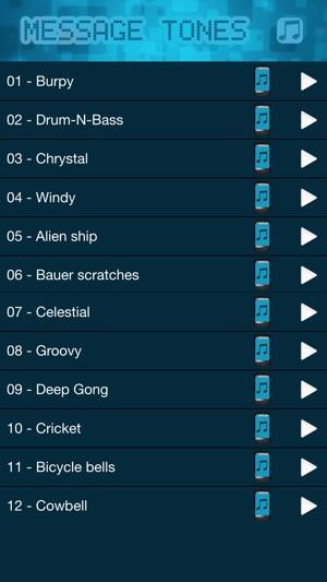 alien sound text tone iphone