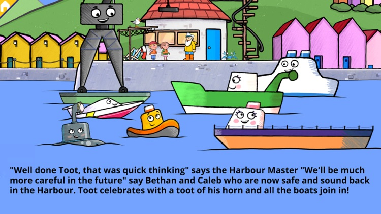 Toot to the Rescue - Story Book for Kids screenshot-4