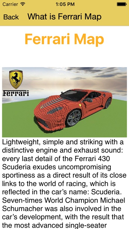 Cars Mod for Minecraft PC Ferrari Edition + Vehicles & Racing Car Driver Skins screenshot-3