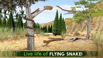 Ataque de serpiente real de vuelo Simulador: Wild Hunt-Vida Los animales en el bosqueCaptura de pantalla de3