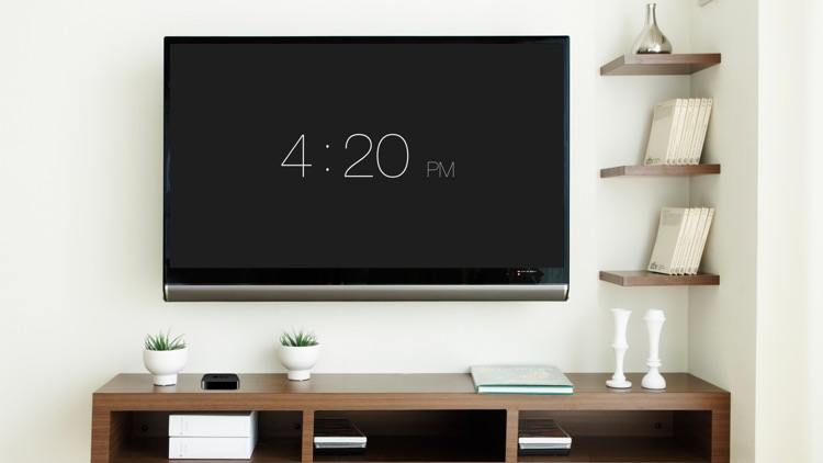 Digital Watch - Turn your TV into an Elegant Wall Clock