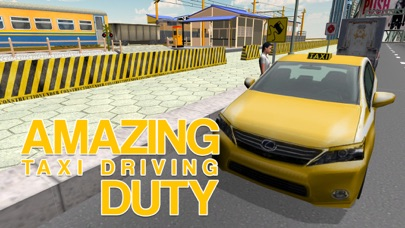 Taxi Driver Simulator – Yellow cab driving & parking