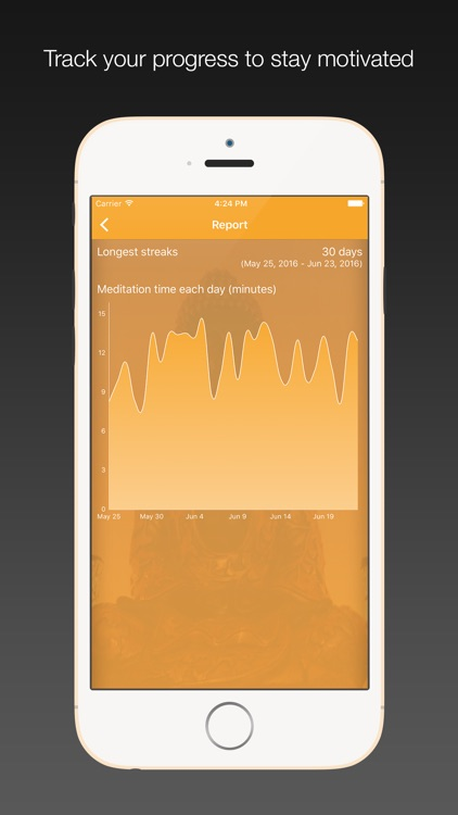 Perfect Zen - Meditation Timer with Interval bell, ambient sounds screenshot-3