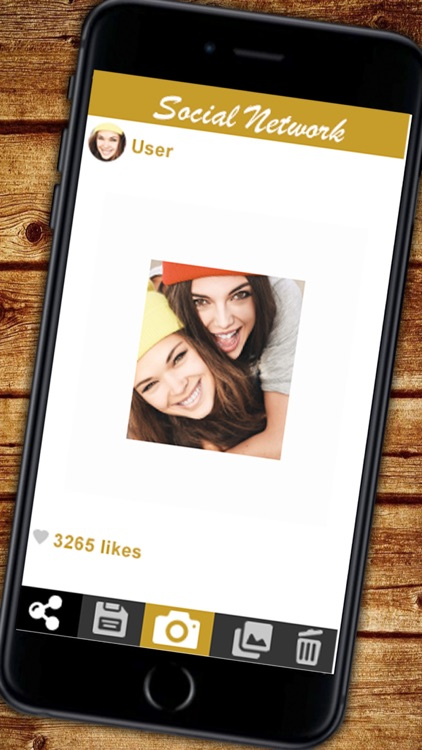 White frame for your photos screenshot-4
