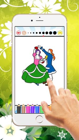 Boda para colorear libro: Aprende a colorear y dibujar tarjeta de ...