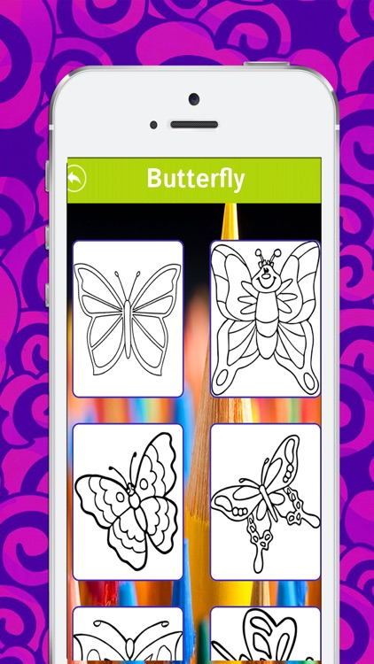 Coloring App for Kids  - Best Recolor Editing Design Book With Children Drawing Pages