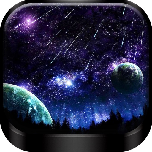 Home And Lock Screen Wallpapers: Cool HD Moon & Star.s Background For