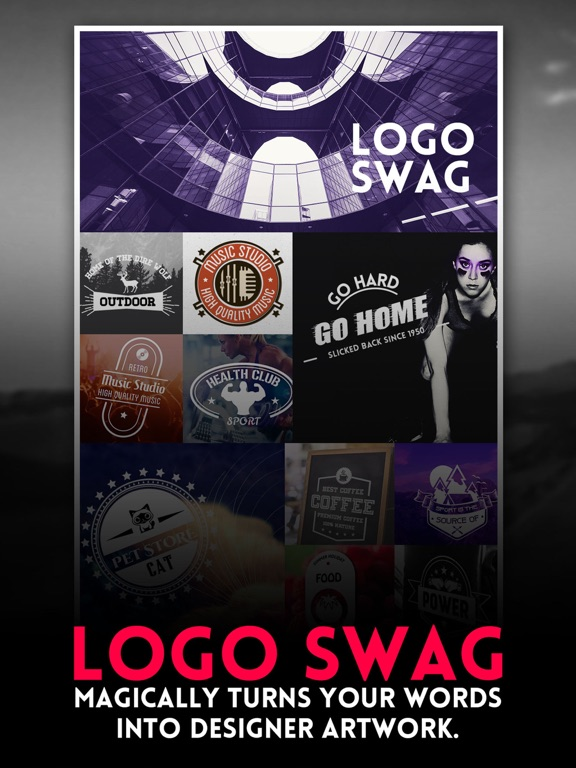 Logo swag instant generator for logos flyer poster invitation logo swag instant generator for logos flyer poster invitation design app price drops stopboris Image collections