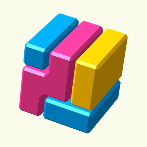 Brain Block -脳トレ分解パズル- icon