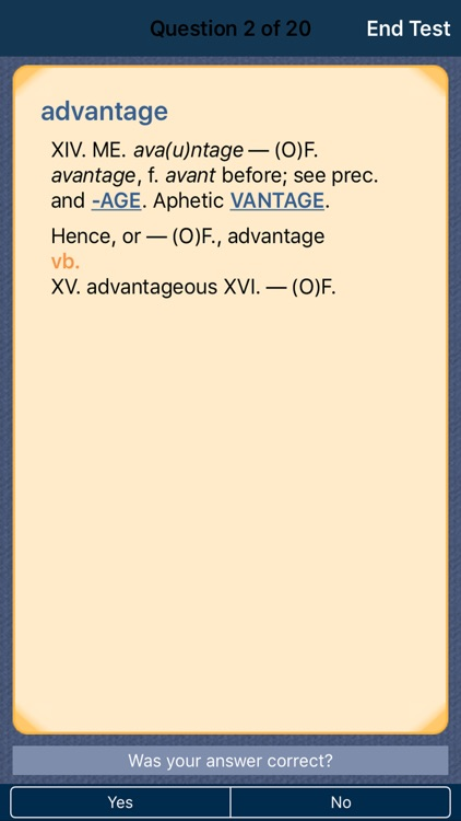 The Concise Oxford Dictionary of English Etymology screenshot-3