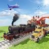 市汽车运输火车与卡车司机模拟器游戏