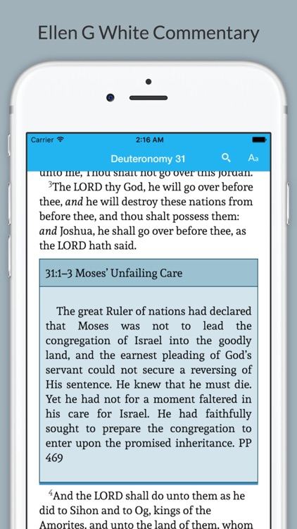 Bible with EGW Comments
