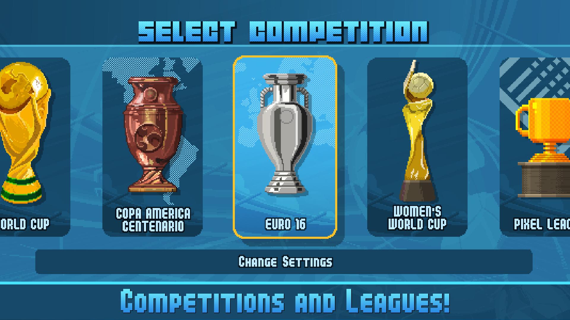 Pixel Cup Soccer 16 screenshot 14