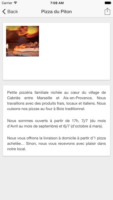 Pizza du Piton screenshot two