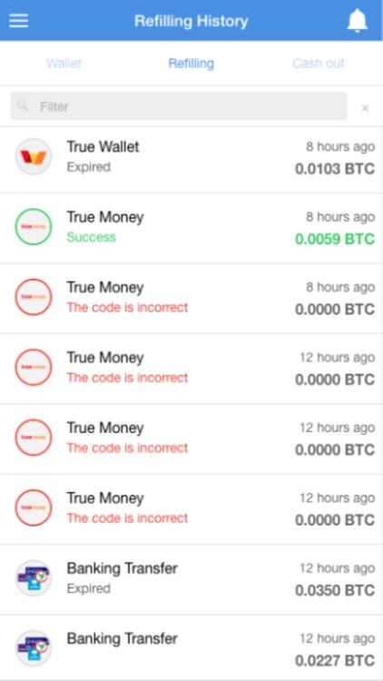 Satang - Social Bitcoin Wallet screenshot-3