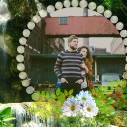 Waterfall Photo Frame - Picture Frames + Photo Effects