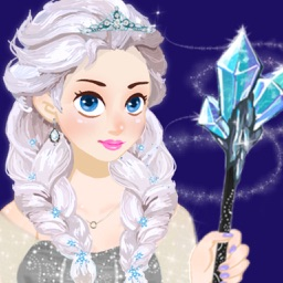 Ice Princess - Frosty Makeup and Dress Up Salon Girls Game