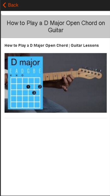 Guitar Lesson - Learn Guitar for Beginners screenshot-4