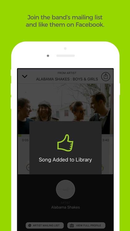 Earbits Music Discovery Radio screenshot-4