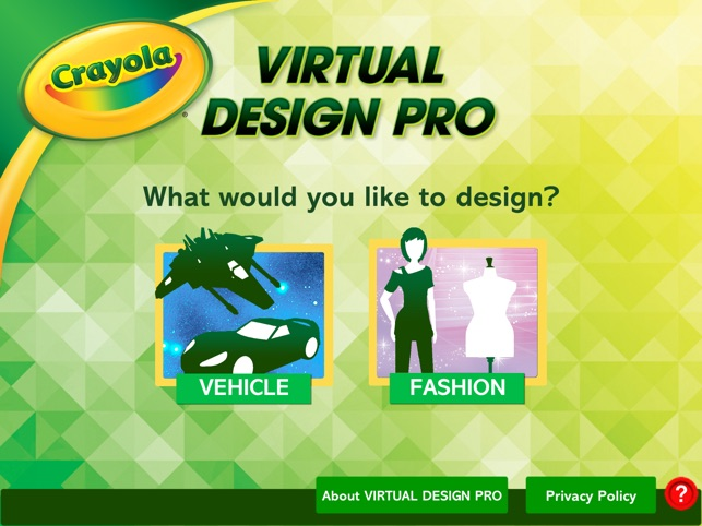 Crayola Virtual Design Pro On The App Store