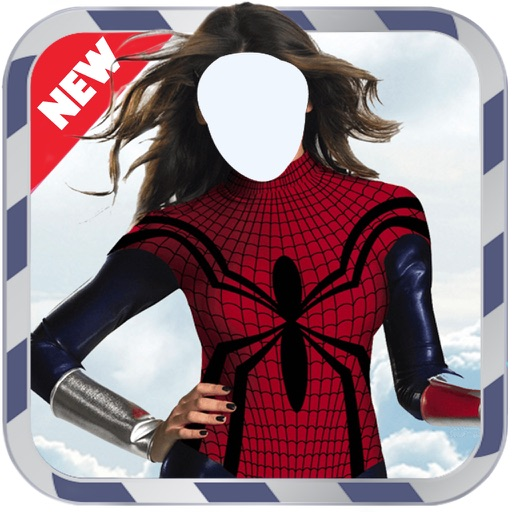 Superwoman Photo Suit- New Photo Montage With Own Photo Or Camera iOS App