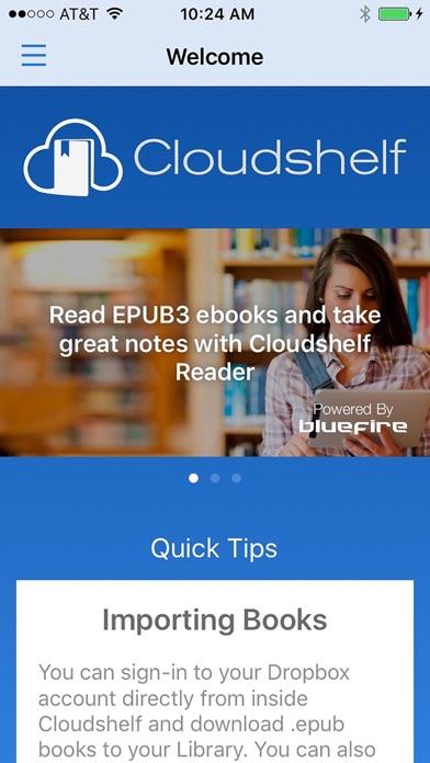 Cloudshelf Reader