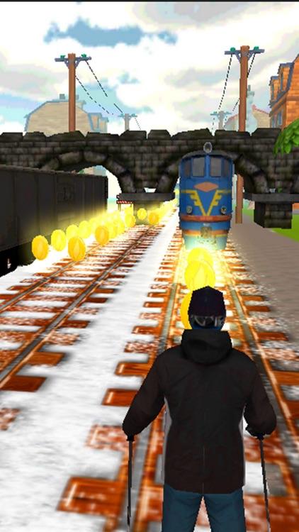 Subway Skating Surfers 3D screenshot-3