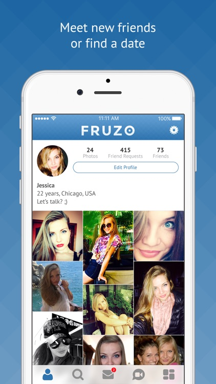 Fruzo - Free Video Chat & Dating Social Network by Bridgestone International Group Inc