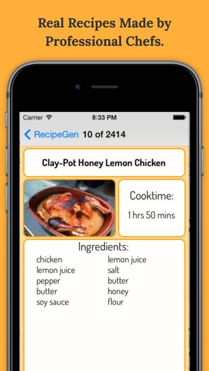 RecipeGen New Recipes By Ingredients app image
